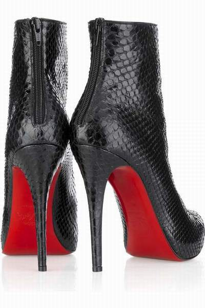 bottines louboutin occasion